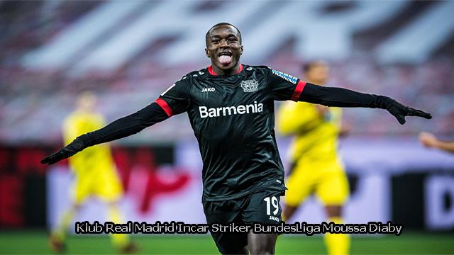 Klub Real Madrid Incar Striker BundesLiga Moussa Diaby